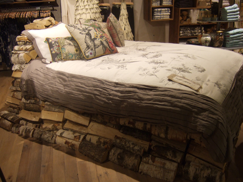 firewood bed anthropologie